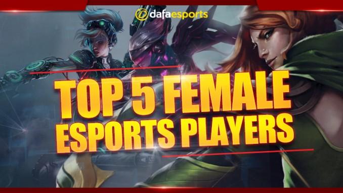 Top 5 female eSports earners
