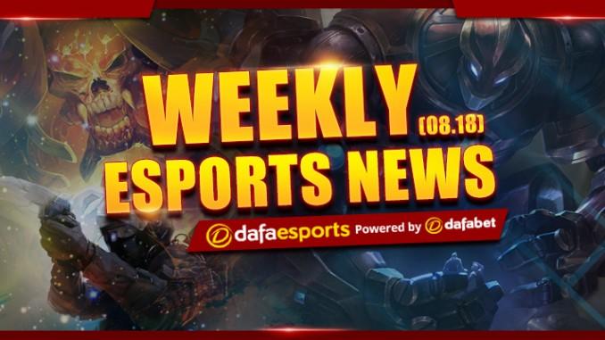 Weekly News Recap – August 18, 2017