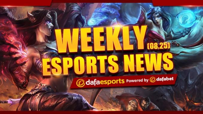 Weekly News Recap – August 25, 2017