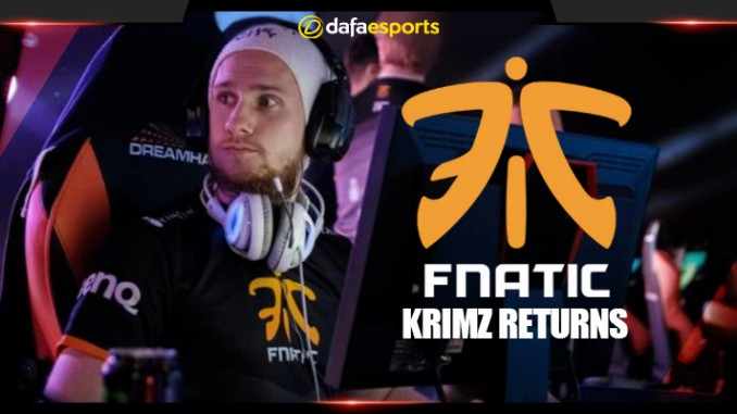 KRiMZ returns to Fnatic