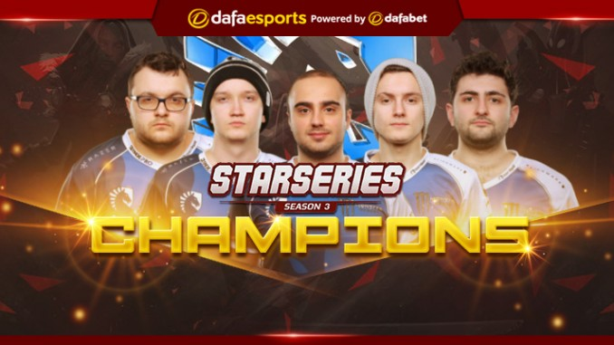 Team Liquid - the StarLadder i-League StarSeries Season 3 champions