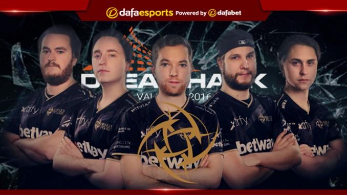 DreamHack Valencia 2017: Ninjas in Pyjamas