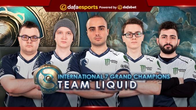 Team Liquid TI7 Champions