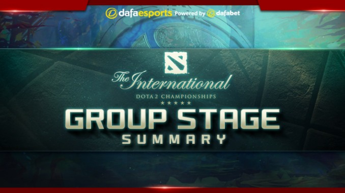 The International 7 – Group Stage
