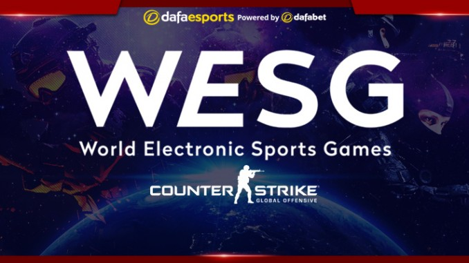 WESG APAC Finals CS GO